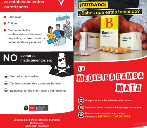 FERIA POR EL DÍA CONTRA LA FALSIFICACIÓN DE MEDICAMENTOS